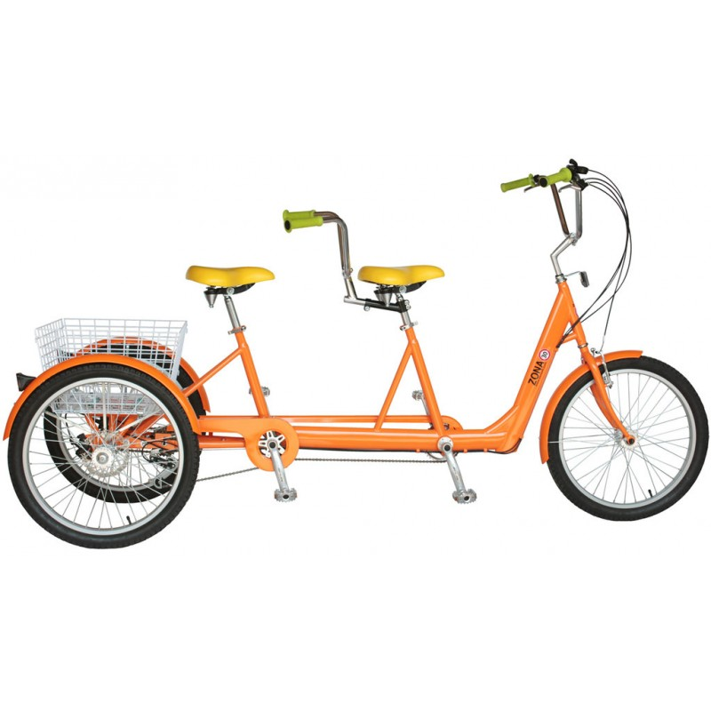 tandem-triciclo