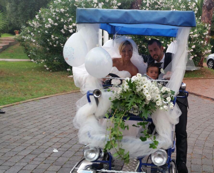 Carrozzella 3+2 per Matrimonio